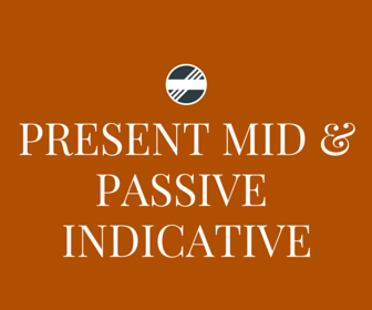 Present Mid Pass Indicaative