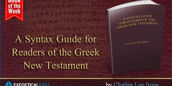 This Guide Helps You with the Syntax of the Entire New Testament