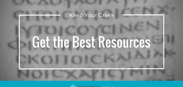 Keep Your Greek: Get the Best Resources