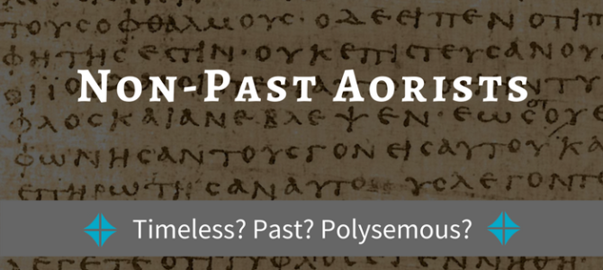 What Do We Do with Non-Past Aorists?