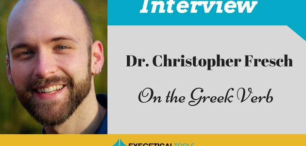 On the Greek Verb, with Greek Linguist Chris Fresch