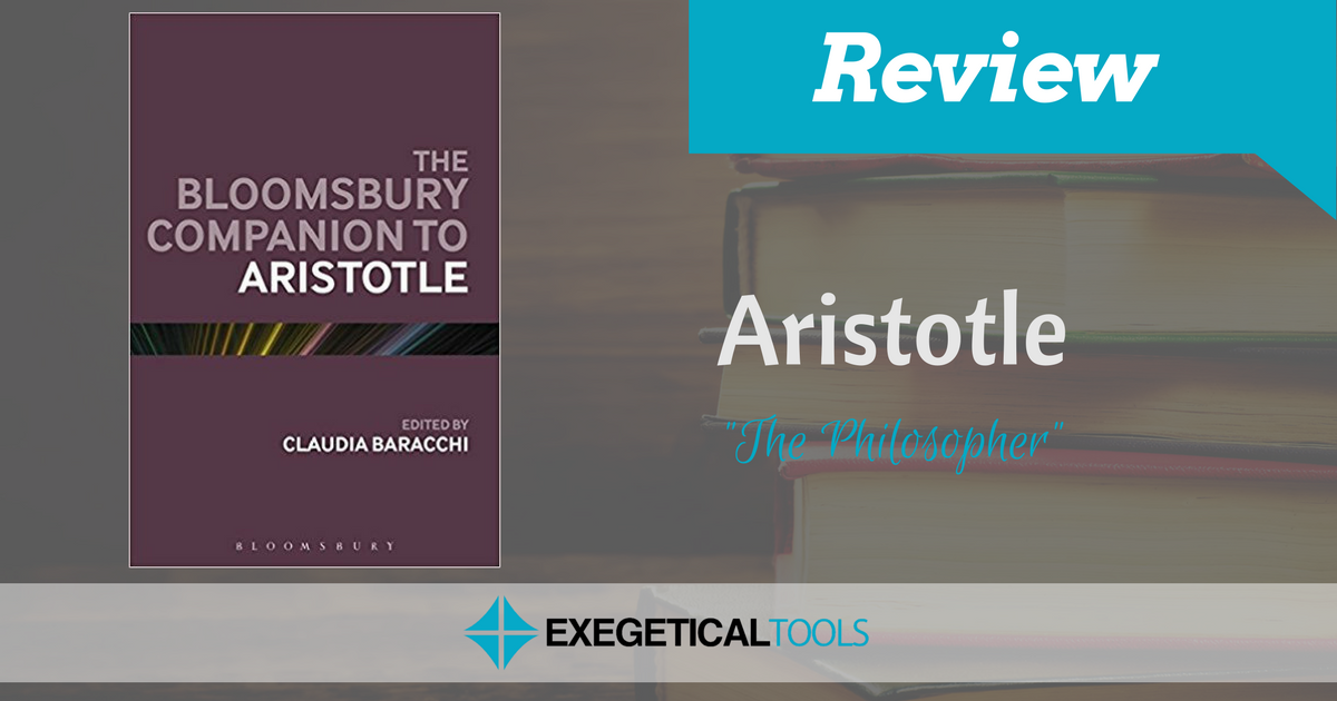 an analysis of companionship in aristotelianism An introduction to the first great work of literary criticism aristotle's definition of tragedy might be summed up as: an imitation of an action which has serious and far reaching consequences nothing trivial, in other words, which is the domain of comedy comedy deals in the trivial and the.